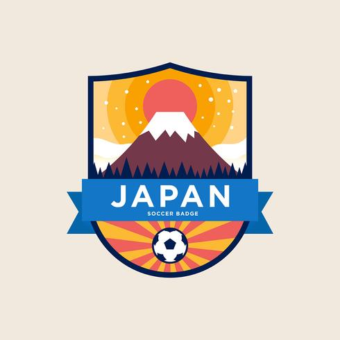 Japan World Cup Soccer Badges - Download Free Vector Art, Stock Graphics & Images