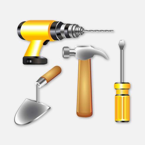 Realistische Werkzeuge