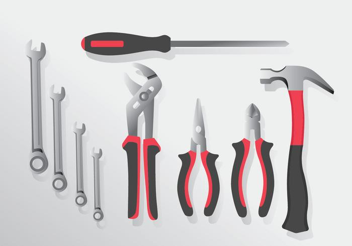 Realistic Tools Vector Pack