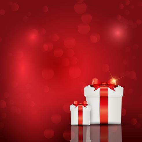 Gift box background