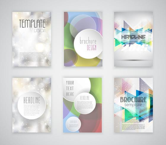 Modelos de brochuras