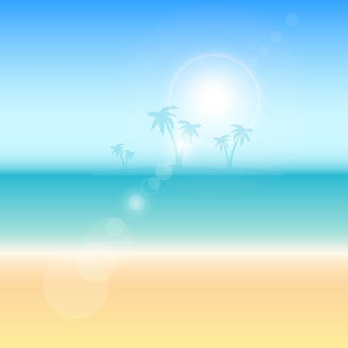 Summer themed background