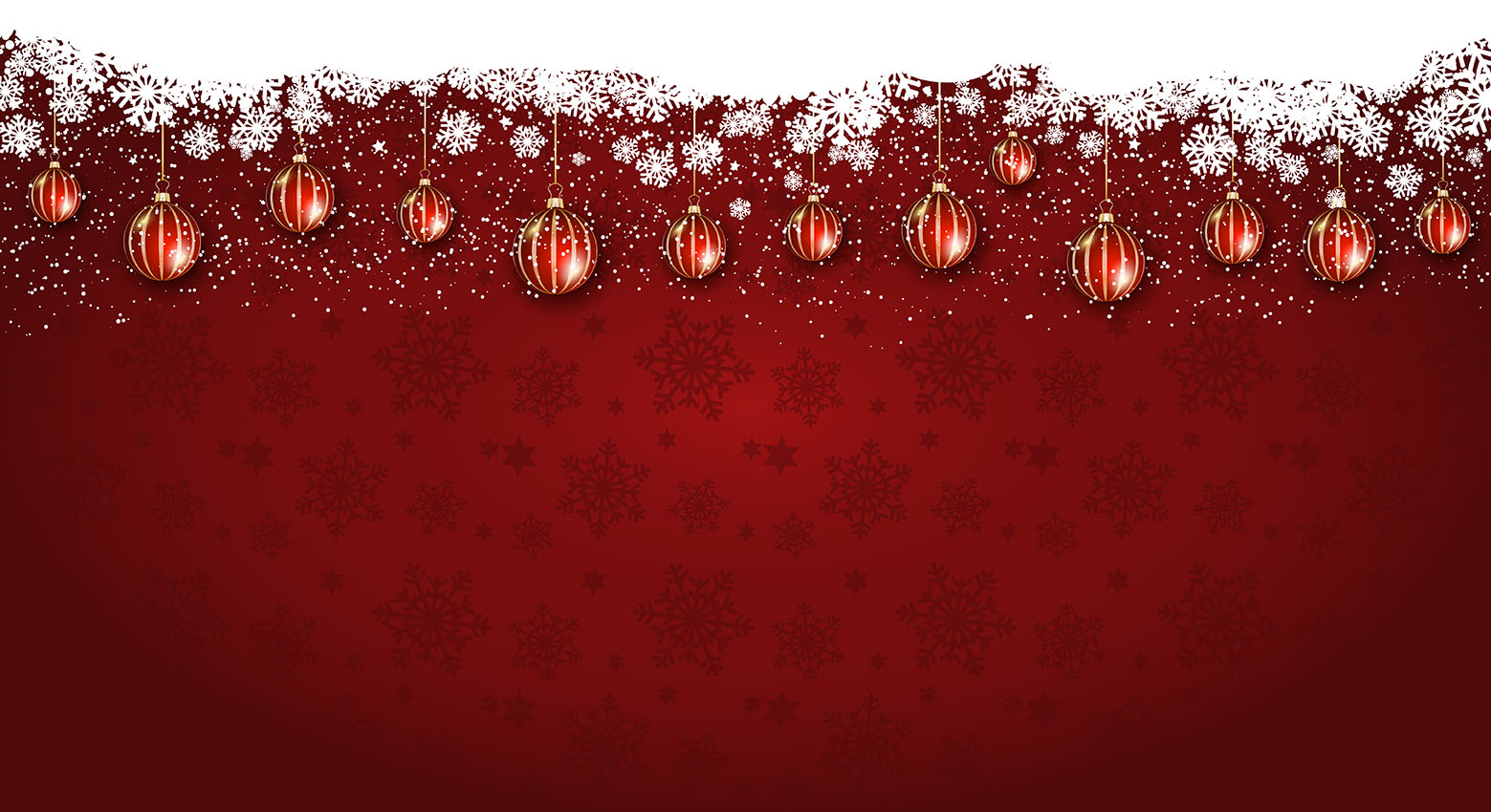 Widescreen Christmas Background