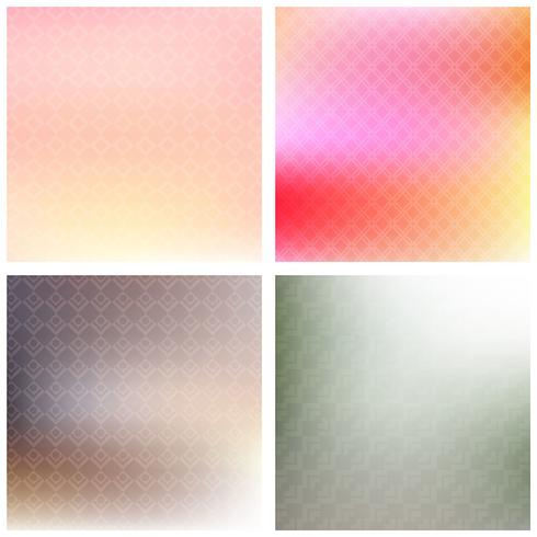 Soft patterned backgrounds