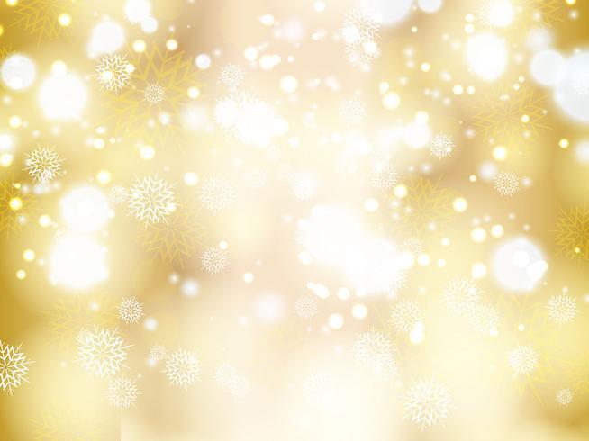 Christmas snowflake and stars