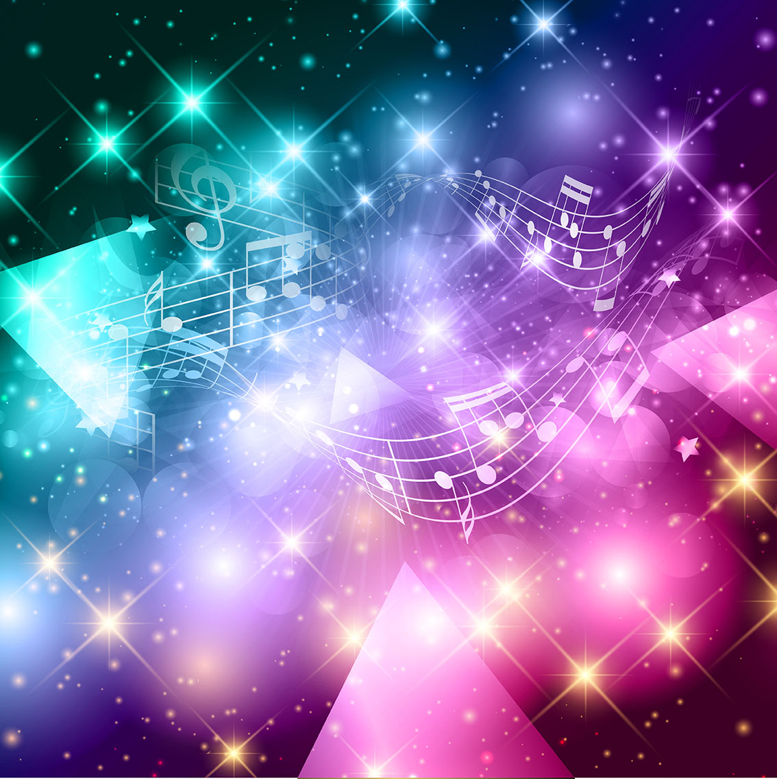 Abstract music notes background 222465 - Download Free ...