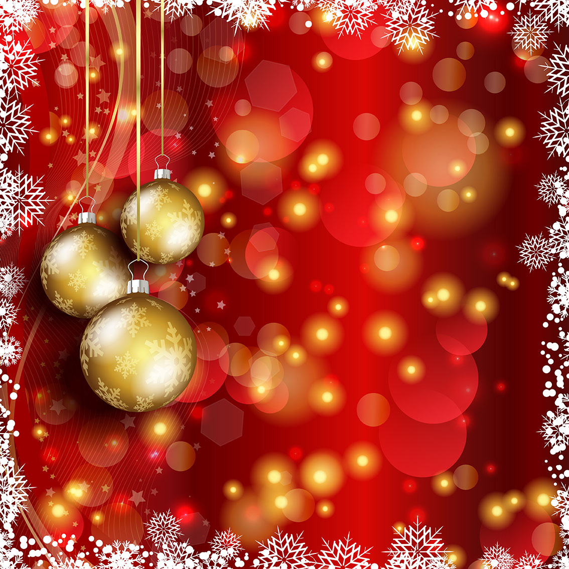 Christmas Bauble Background Download Free Vector Art