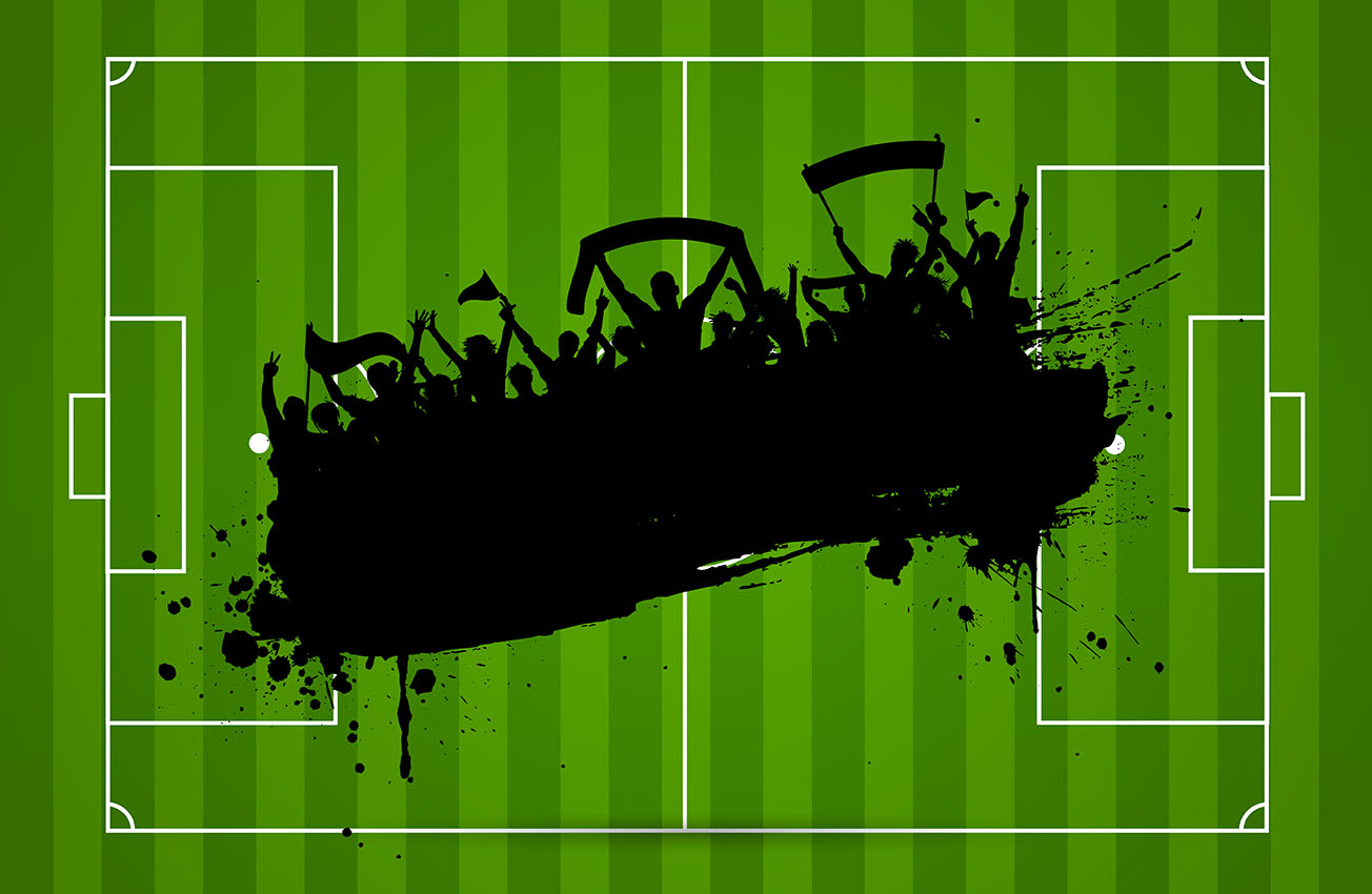 Sports Ball Vector Background Art Free Download: Football Or Soccer Background