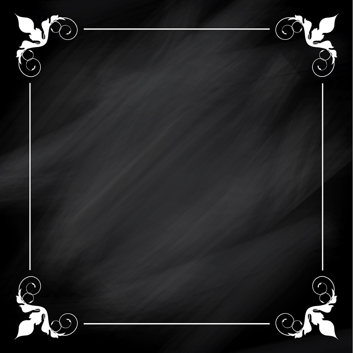Chalkboard Borders Vector Art, Icons, And Graphics For