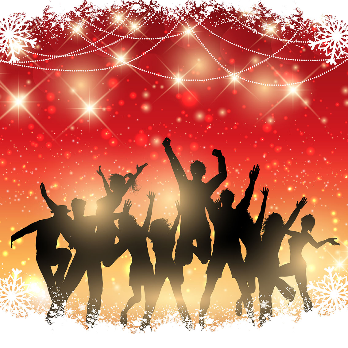 Christmas Holiday Party: Christmas Party Background