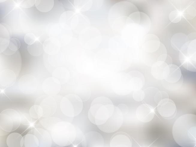 Silver Christmas background
