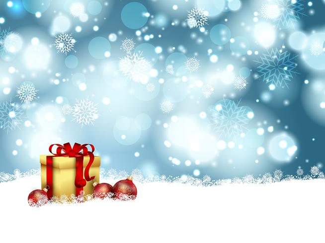 Christmas gift background