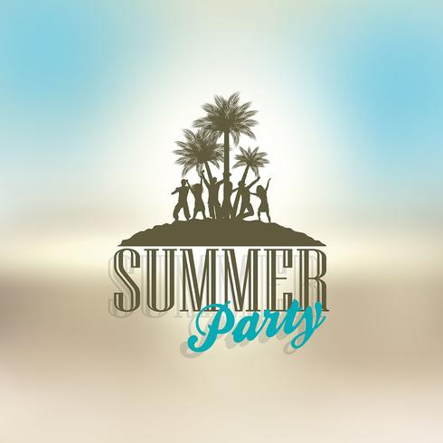Summer party background