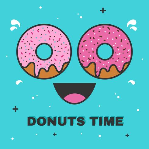 donuts time vector