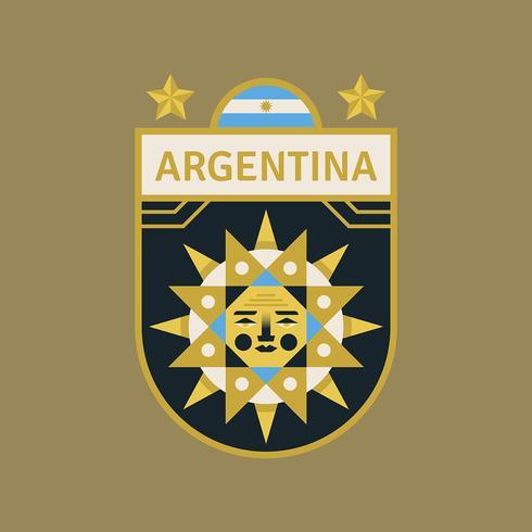 Argentina World Cup Soccer Badges