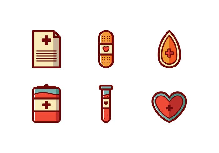 Blood Drive Icon Vector