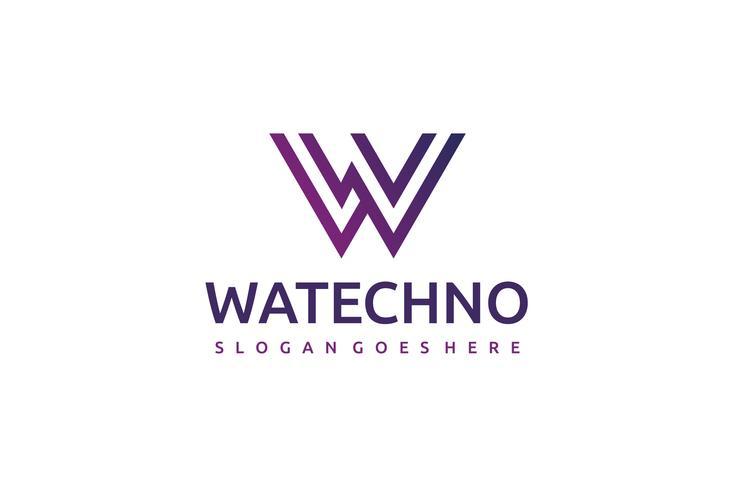 Logotipo de W