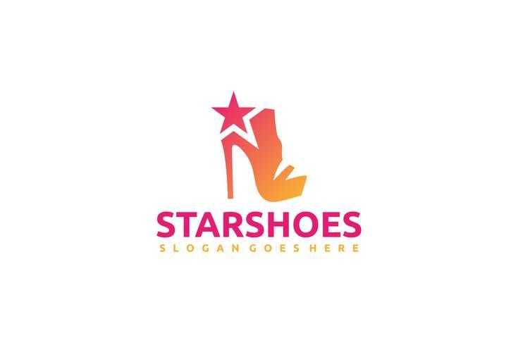 Logotipo de zapatos de mujer