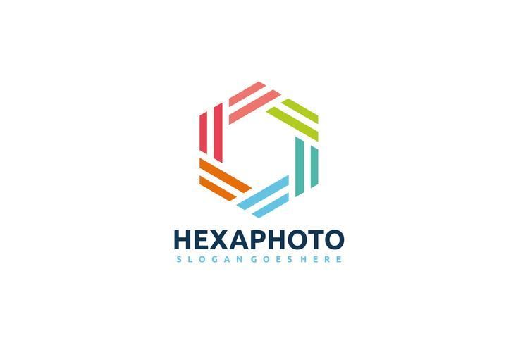 Hexagon fotografie-logo