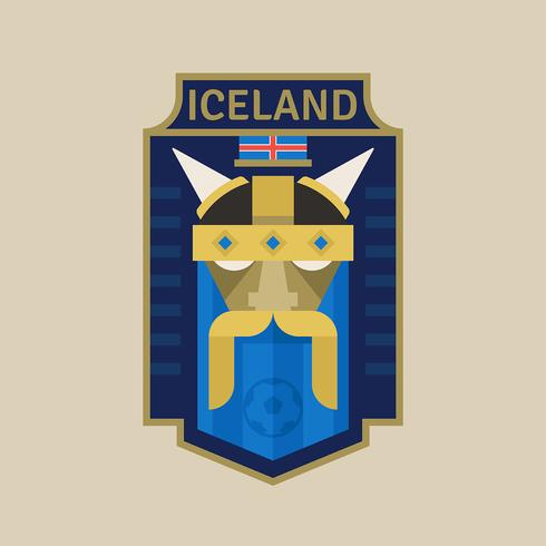 Iceland World Cup Soccer Badges - Download Free Vector Art, Stock Graphics & Images