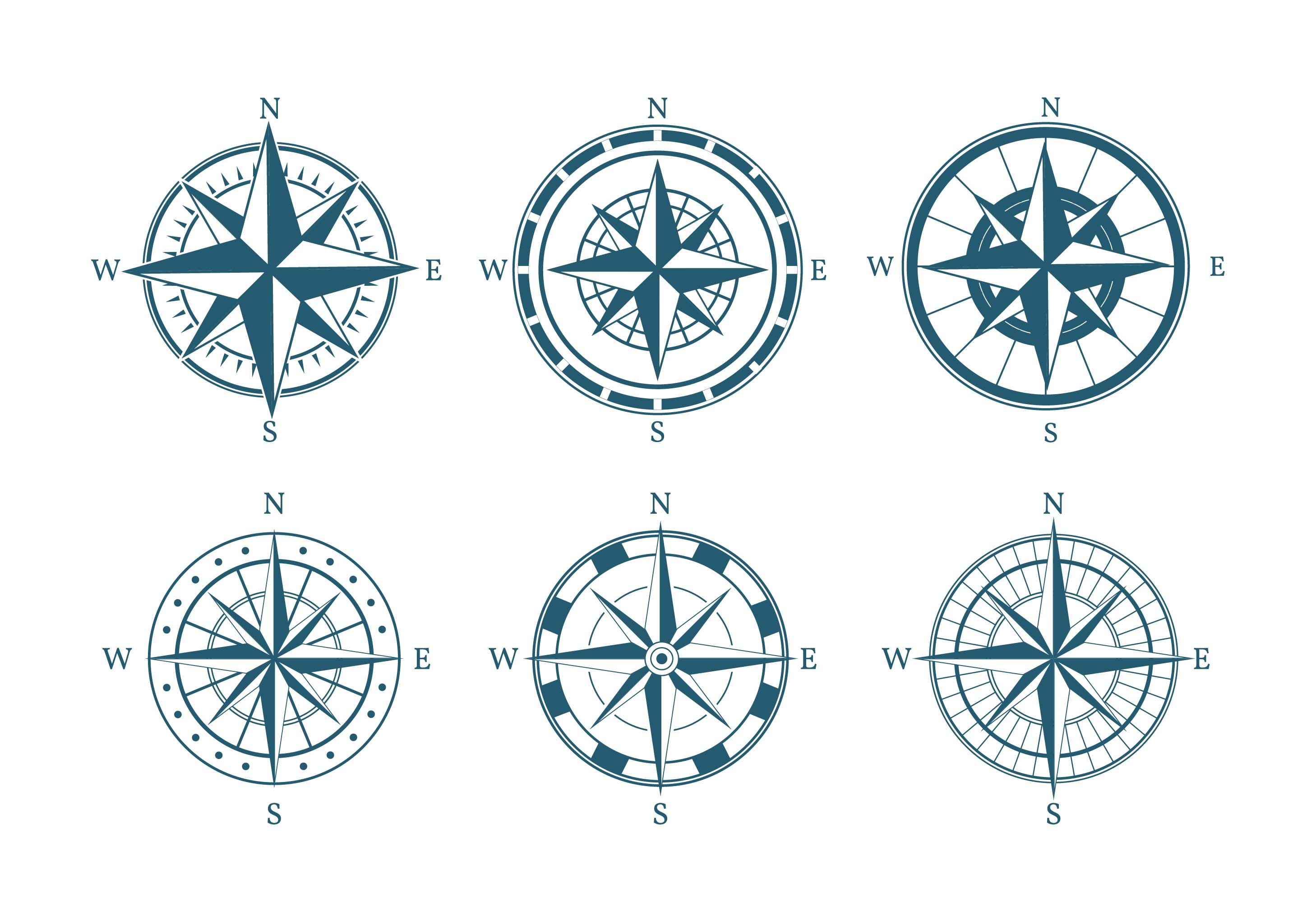compass free vector art 657 free downloads
