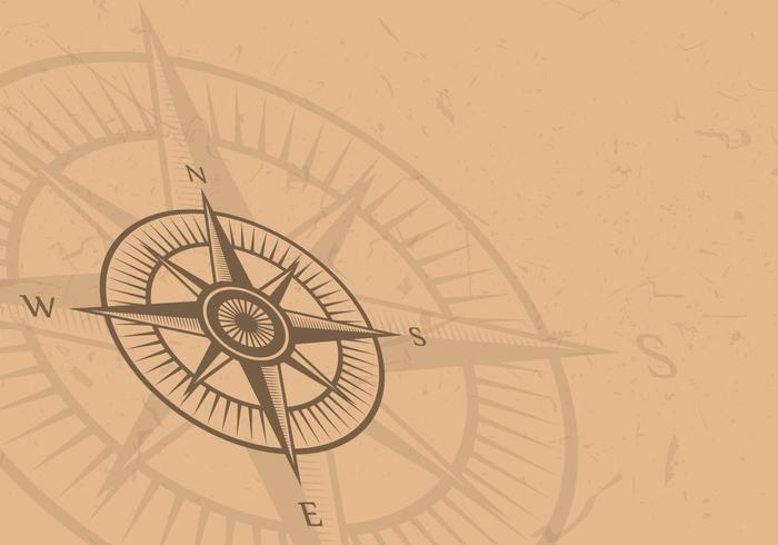 Vintage Compass Background vector