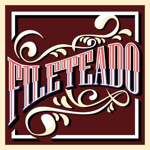 Fileteado Illustration