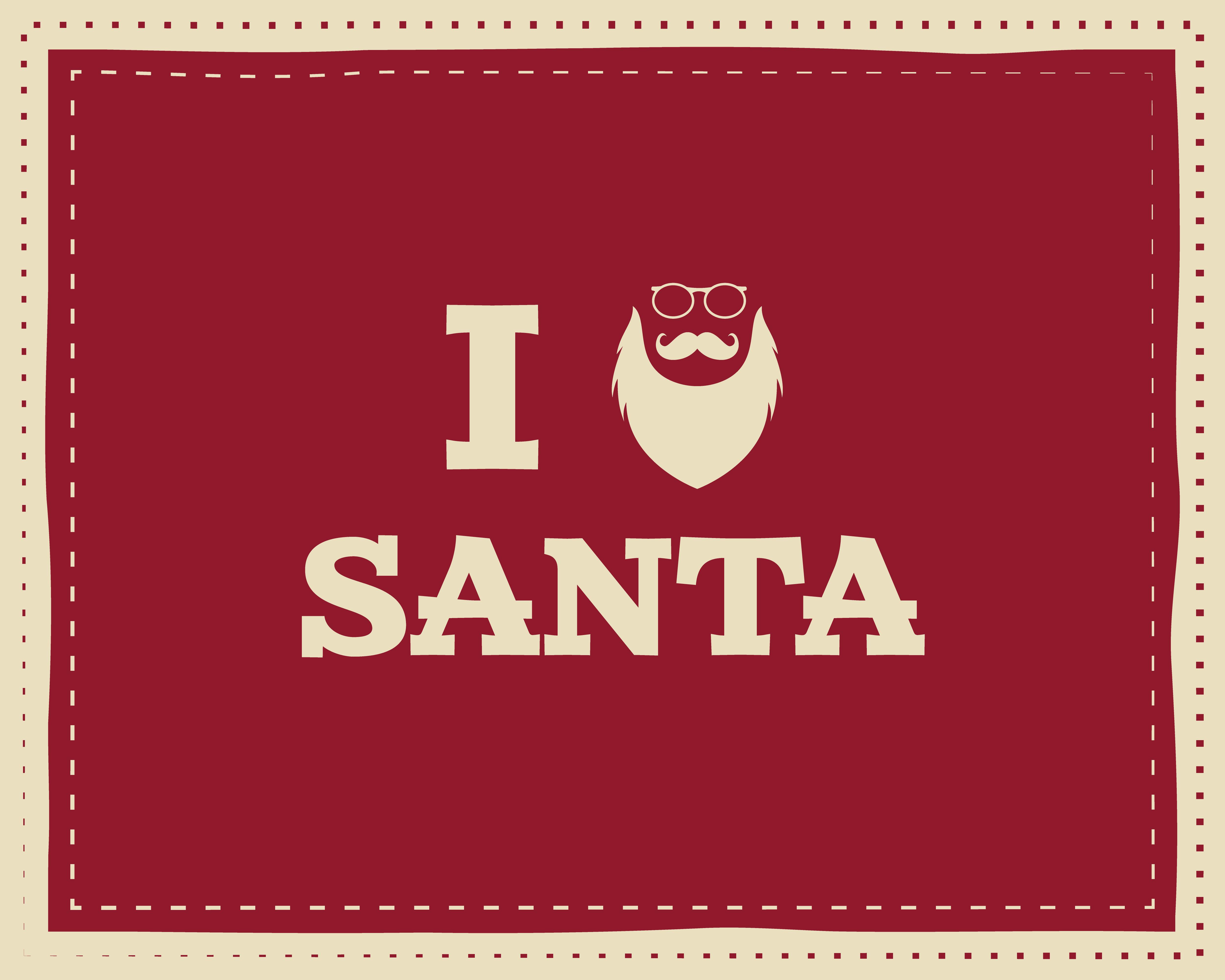 christmas unique funny sign quote background design for kids love santa nice bright palette. Black Bedroom Furniture Sets. Home Design Ideas