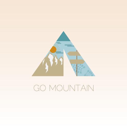 Mountain Camp design mall.