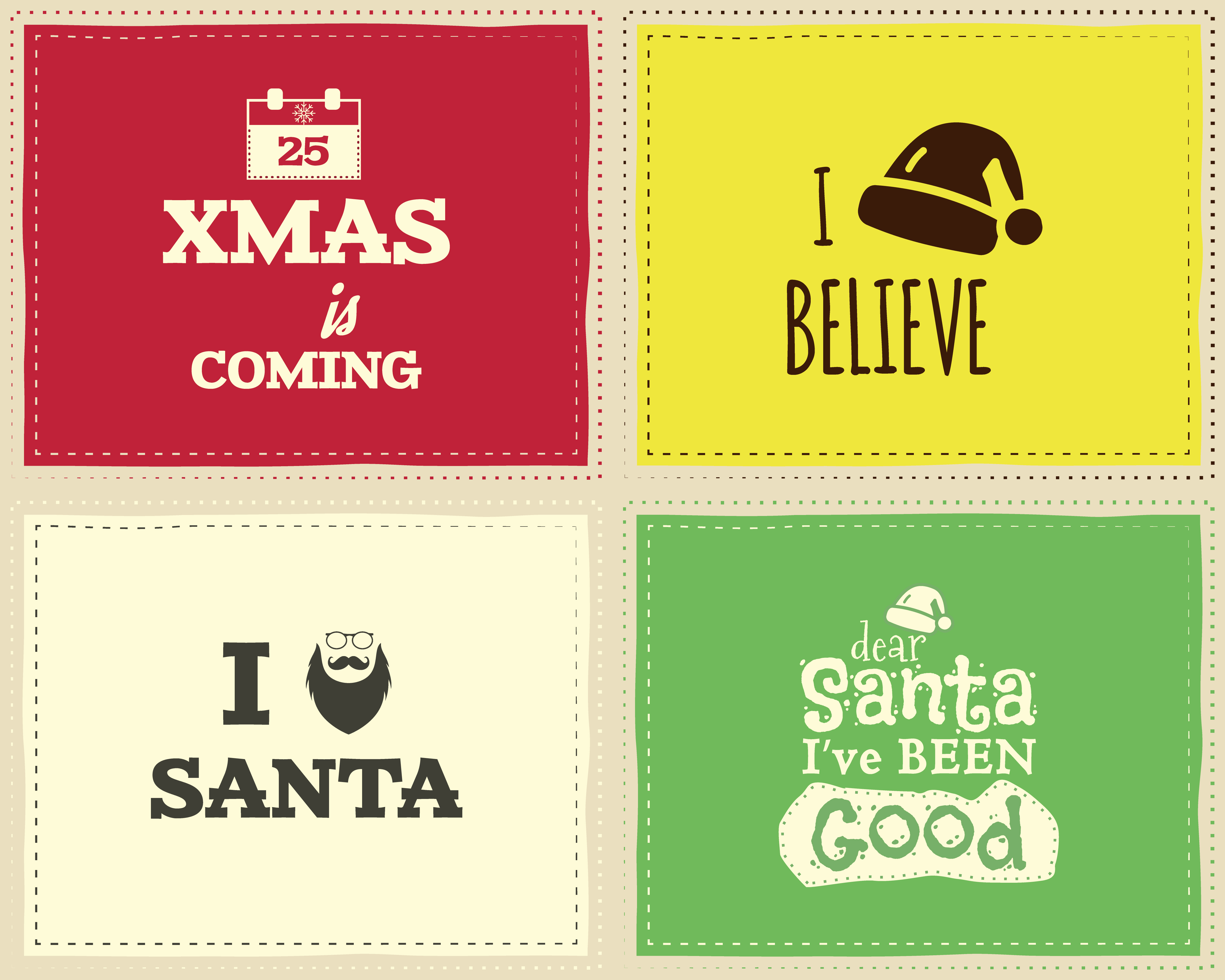 Christmas Unique Funny Sign Quote Background Design Set For Kids Xmas Is Coming Nice Bright Palette Can Be Use As Flyer Banner Poster Background Card Vector Download Free Vectors Clipart