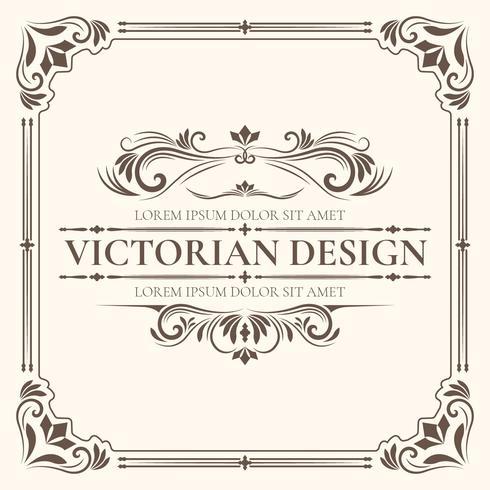 Victorian Design Template