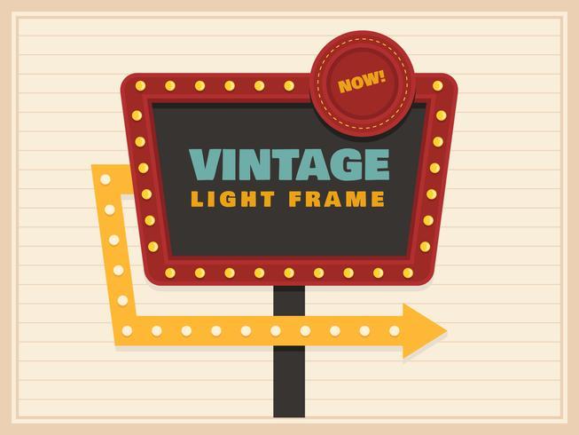 Schöne Vintage Zeichen Vektoren