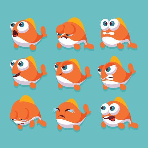 Dibujos animados de pescado