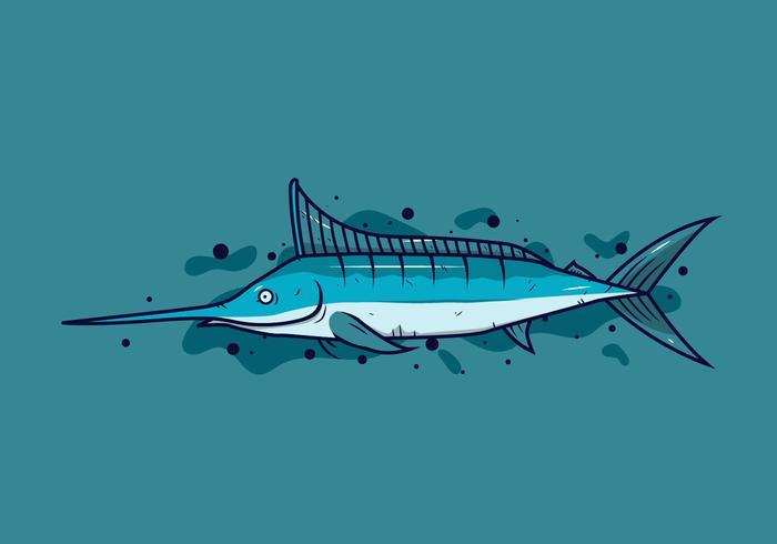 vector de peces de dibujos animados