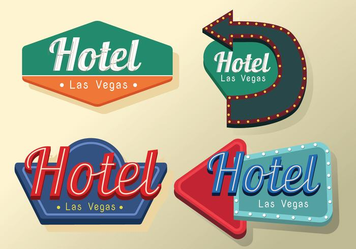 Vintage Signs Vector Pack