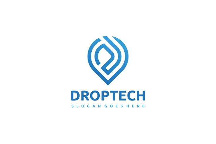drop tech logo