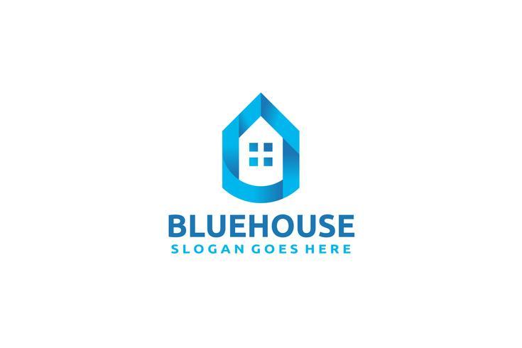 Blaues Haus Logo