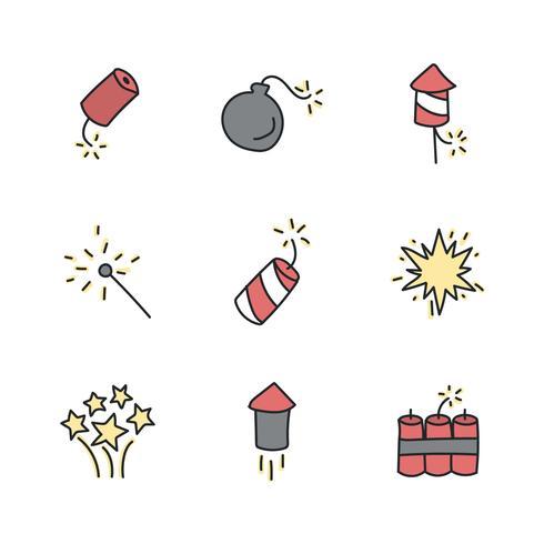 Ícones de Explosão