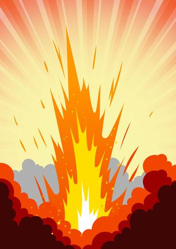 Alta explosão