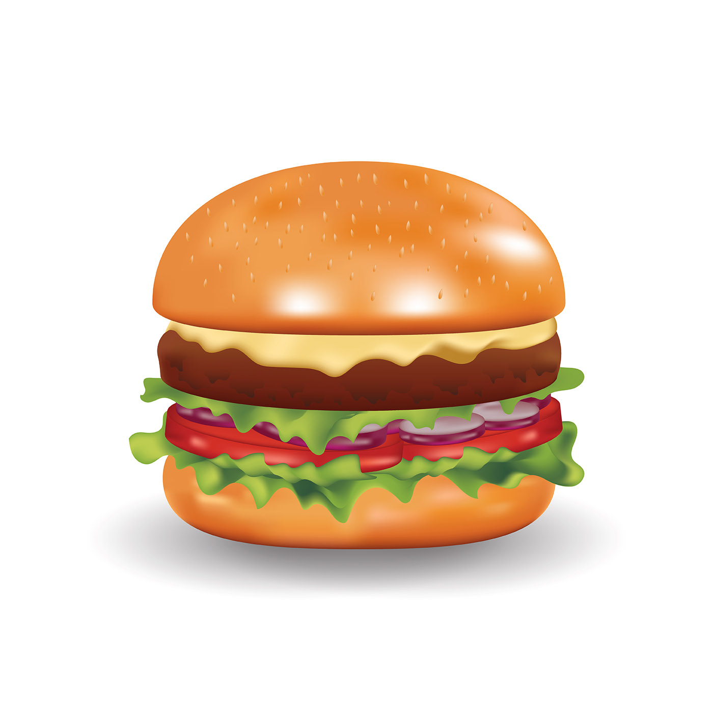 Realistic Fast Food - Download Free Vector Art, Stock ...
