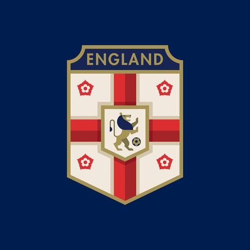 England World Cup Soccer Badges