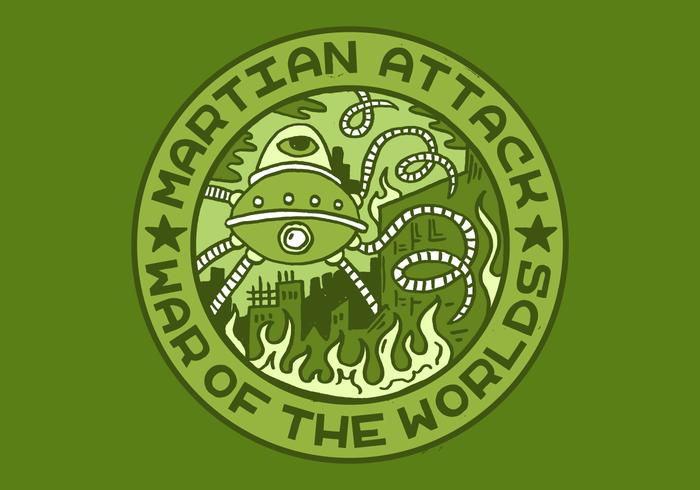 Alien attack merit badge