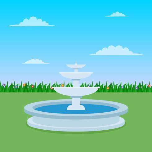 Prachtige fontein vectoren