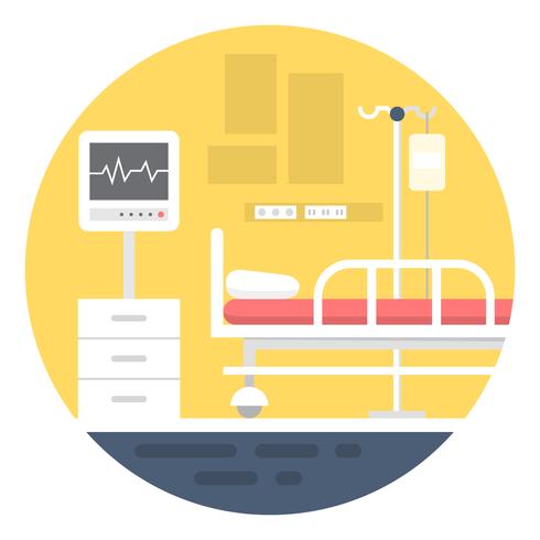 Ziekenzaal vector