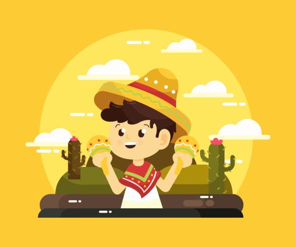 Vetor De Sombrero