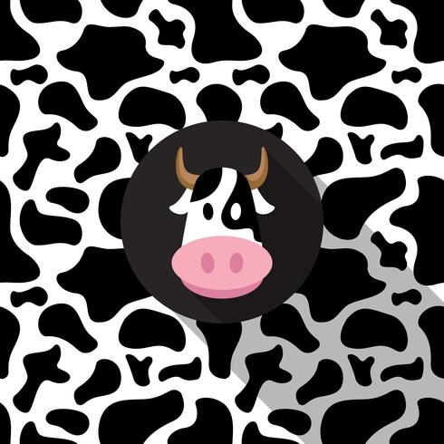 Cow Print Background