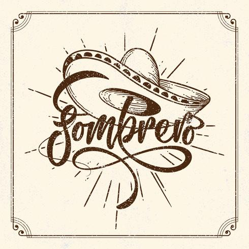 Illustration de Sombrero