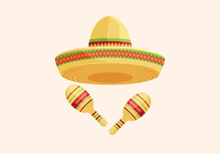 Sombrero Vector Illustration