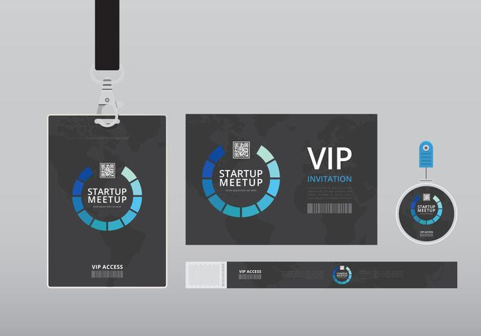 Attractive Vip Pass Template Illustration - Resume Template ...