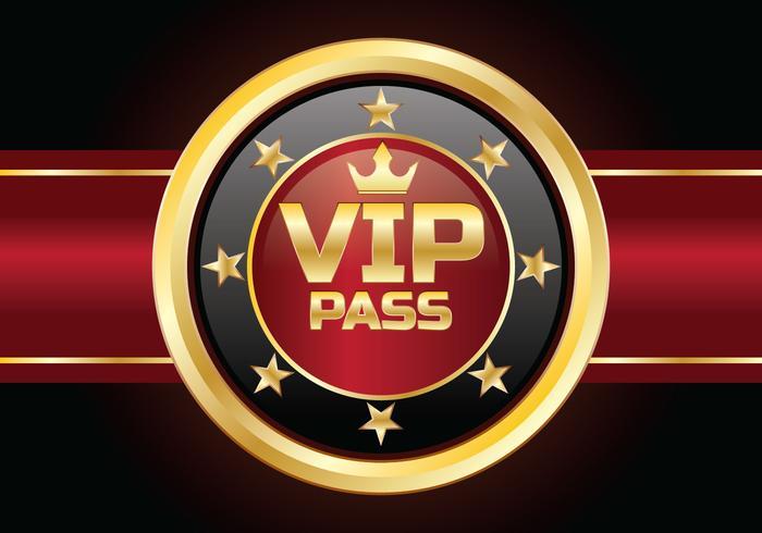 Carte de passe VIP